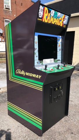 Rampage Arcade With Lots Of New Parts, New LCD Monitor