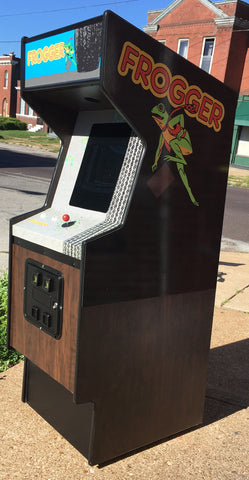 FROGGER ARCADE WITH LOTS OF NEW PARTS-SHARP