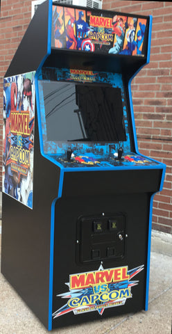 Marvel Vs Capcom Arcade  Lots Of New Parts Sharp