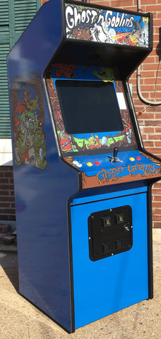 Ghost'n Goblins Arcade, lots of new parts and LCD monitor, sharp