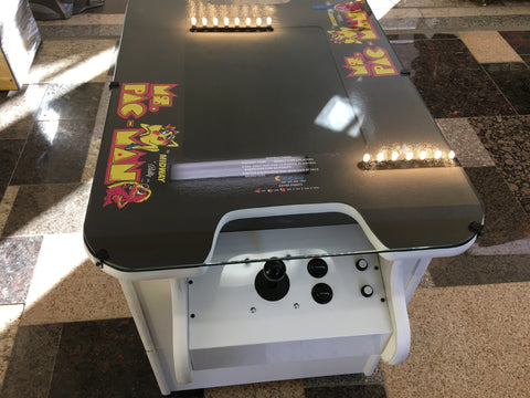 ms pacman cocktail table manual