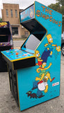 SIMPSONS ARCADE GAME- LOTS OF NEW PARTS-EXTRA SHARP