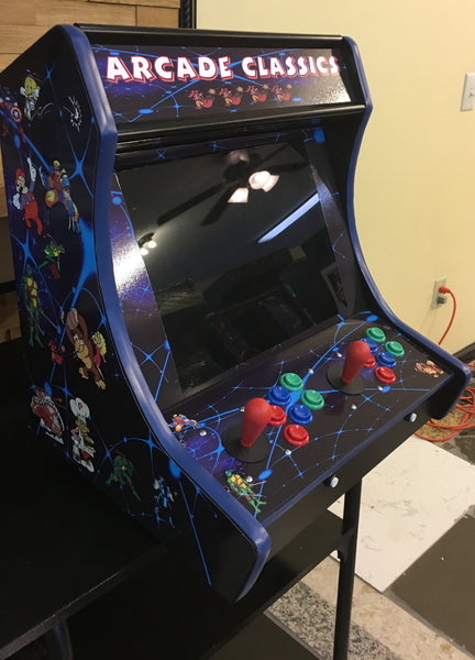 Bar top Counter Top Arcade Multi Game New With Free