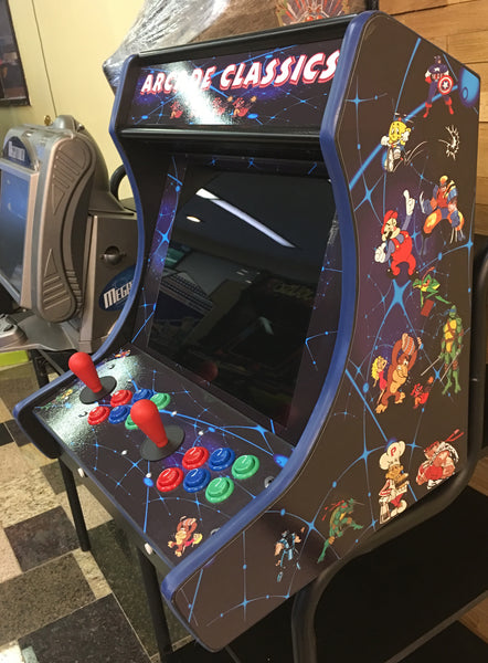 Pacman Table Game >> Bar top ( Counter Top ) Arcade Multi Game- New With Free ...