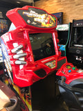 Fast & Furious Super Bike Sit Down Arcade Game By Raw Thrills, Refurbished , LCD Monitor, Sharp