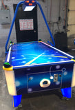Fun Air Hockey Table, Arcade Style Coin Operated With Redemption Tickets