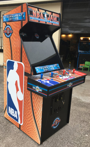 Nba Jam Tournament Edition Arcade With Lots Of New Parts