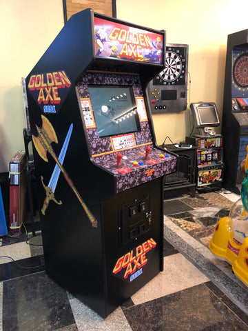 Golden Axe Arcade, Lots Of New Parts,Sharp