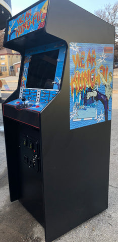 YIE AR KUNG-FU Arcade Video Game, lots of new parts, sharp