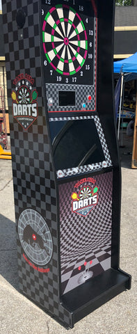 "Dart Machine-Heavy Duty Commercial Grade Take Aim Dart none Coin operated- Brand New With 23"" Monitor"