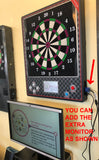 Dart Machine - Take Aim Mini Wall Mount , Commercial Grade, Heavy Duty, Brand New With Standard Size Target-Free shipping for limited time.