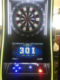 Dart Machine-Electronic Coin Operated Take Aim Deluxe Dart , New with LED Lighting