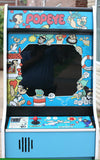 POPEYE ARCADE GAME WITH LOTS OF NEW PARTS-SHARP