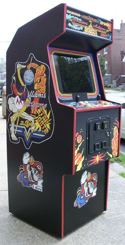 William Multi game Arcade With All New Parts-Sharp