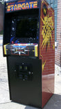 STARGATE ARCADE VIDEO GAME MACHINE WITH LOTS OF NEW PARTS- EXTRA SHARP