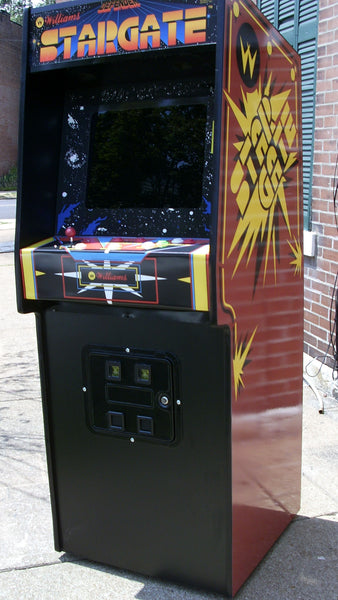 Stargate Arcade Video Game Machine With Lots Of New Parts