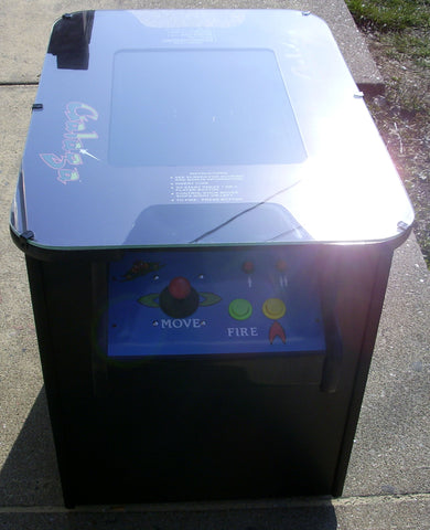 GALAGA COCKTAIL ARCADE, PLAYS MS PACMAN TOO- NEW - ONE YEAR PARTS WARRANTY-FREE SHIPPING