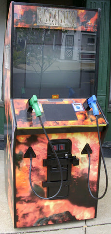 MAXIMUM FORCE GUN GAME ARCADE- EXTRA SHARPS WITH LOTS OF NEW PARTS-Delivery time 6-8 weeks