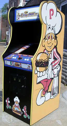 BURGER TIME ARCADE WITH LOTS OF NEW PARTS-EXTRA SHARP – Arcades Market