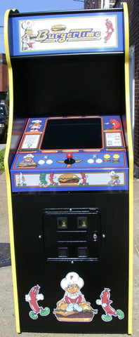 BURGER TIME ARCADE WITH LOTS OF NEW PARTS-EXTRA SHARP