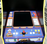 Burger Time Arcade-Lots Of New Parts- LCD Monitor