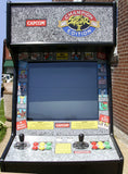 STREET FIGHTERS CHAMPION EDITION ARCADE WITH LOTS OF NEW PARTS- EXTRA SHARP