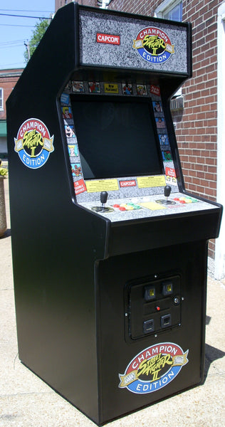 Street Fighters Champion Edition Arcade With Lots Of New