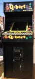QBERT ARCADE WITH LOTS OF NEW PARTS-SHARP