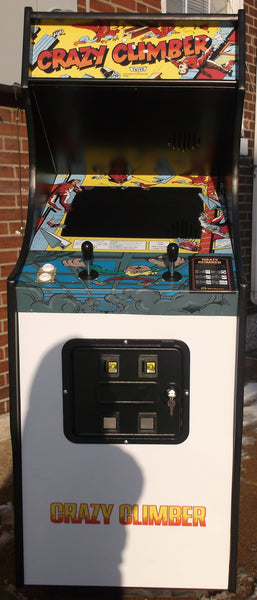 Crazy Climber Arcade With Lots Of New Parts Extra Sharp