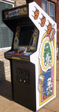 DIG DUG ARCADE GAME WITH LOTS OF NEW PARTS-EXTRA SHARP