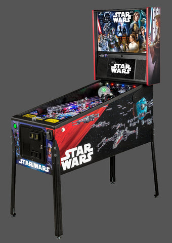 Star Wars Pinball Machine >> Star Wars Pro Pinball Machine By Stern Brand New Arcades Market