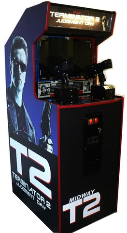 TERMINATOR 2 GUN GAME- REFURBISHED