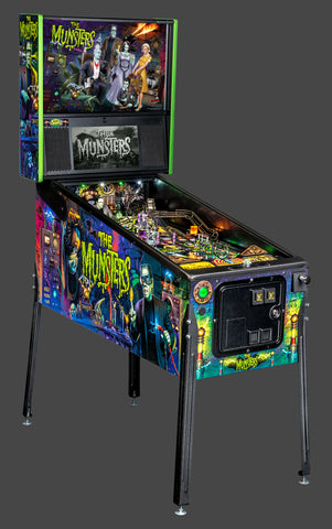 The Munsters Pro Pinball Machine by Stern- Brand New
