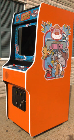 DONKEY KONG JR ARCADE GAME-PLAYS DONKEY KONG AND DONKEY KONG 3 ALSO