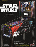 Star Wars PRO Pinball Machine By Stern- Brand New