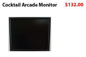LCD MONITOR FOR COCKTAIL ARCADE