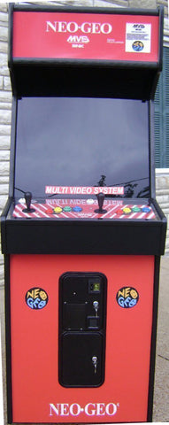 NEO GEO ARCADE GAME, COMES WITH LOTS OF NEW PARTS-EXTRA SHARP