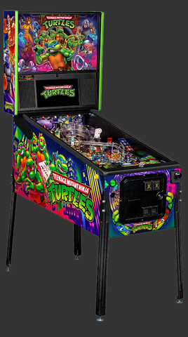 Teenage Mutant Ninja Turtles Pro Pinball Machine-New