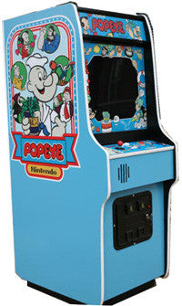 Popeye Arcade Game With Lots Of New Parts Sharp Arcades
