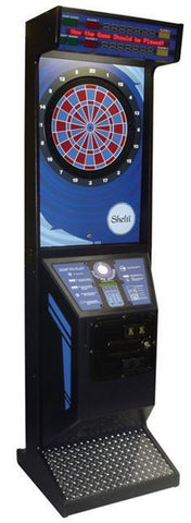 SHELTI EYE 2- COIN OPERATED ELECTRONIC DART BOARD-BRAND NEW