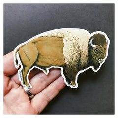 Vinyl Sticker - Bison
