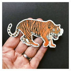 Vinyl Sticker - Tiger