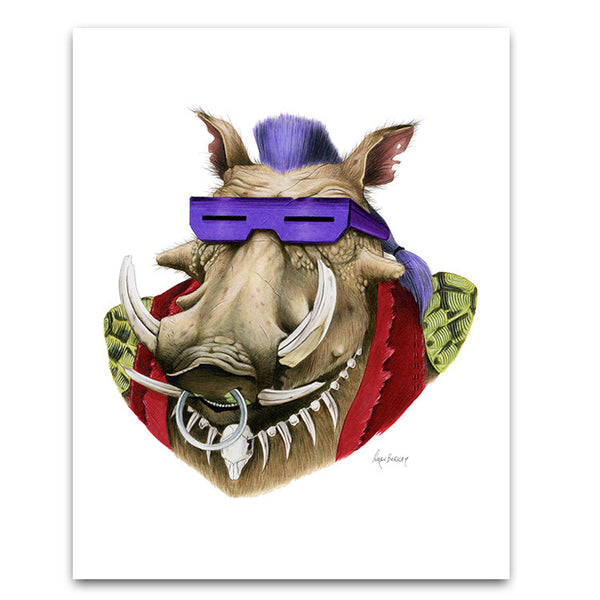 TMNT: Be-Bop Limited Edition Art Print