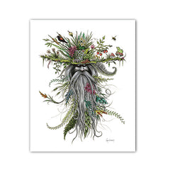 Chlorophyll Bill - Charitable Limited Edition Art Print