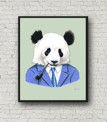 Oversized Panda Print - 16x20 or 20x28 inches