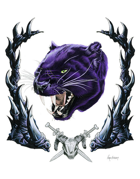MOTU: Panthor Limited Edition Art Print