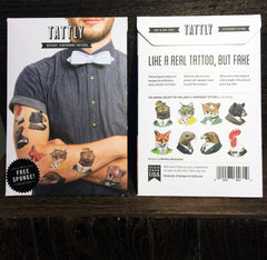 Temporary Tattoos - Animal Society Pack by Tattly