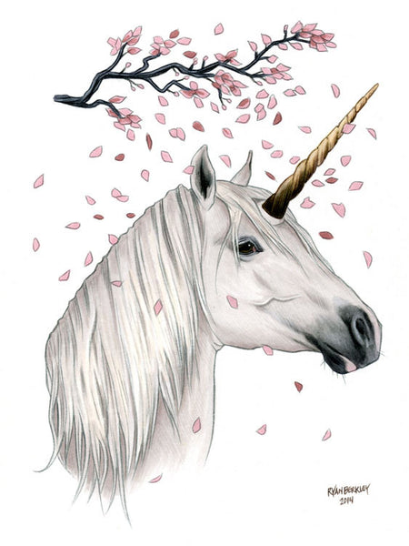 Legend Unicorn - Cinematic Fauna Limited Edition Art Print