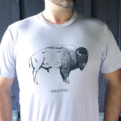 Persevere T-shirt : Bison