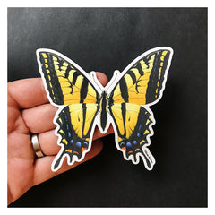 Vinyl Sticker - Swallowtail Butterfly